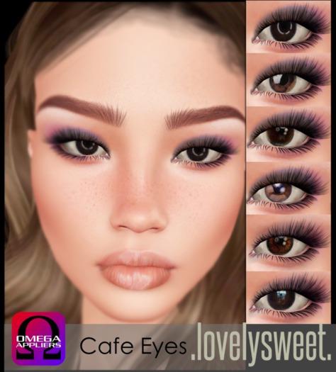 .lovelysweet. Cafe Eyes OMEGA  box ADD ME
