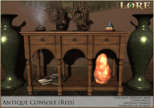 {LORE} Antique Console (red)