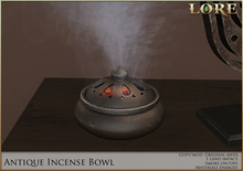 {LORE} Antique Incense Bowl