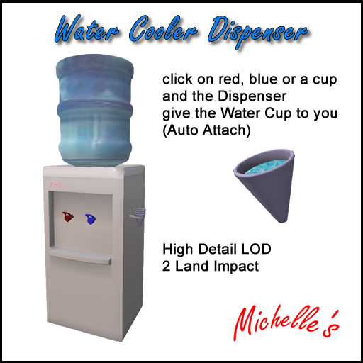 Michelle's Water Cooler Dispenser