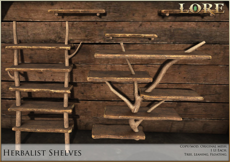 {LORE} Herbalist Shelves