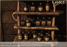 {LORE} Potion Bottles (boxed)