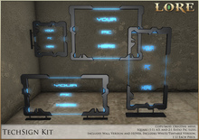 {LORE} TechSigns Kit