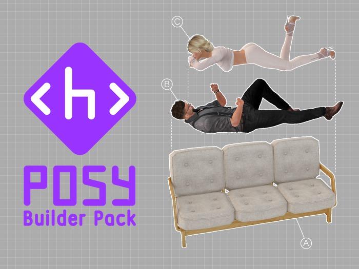 Posy Builder Pack - Sit Script System - PROMO, 50% OFF