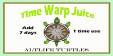 AltLife Time Warp Juice (3 PACK)