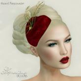 Anastasia Designs Heart Fascinator(Promo)