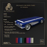 [Ds] Race Car Pool Table PG