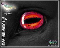 Teegle Eye Appliers - Deep Red Demon
