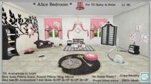 *CC* TD Baby/Bebe *Alice Bedroom*  (WEAR+click)