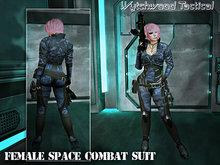 WT Space Combat Suit Female Blue Cadpat