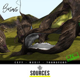 """BOSUS"" Tree Bed (5 Variants colors Included) by ""Sources""  PG - MESH - AddMe - HUD -  Copy and Modify"