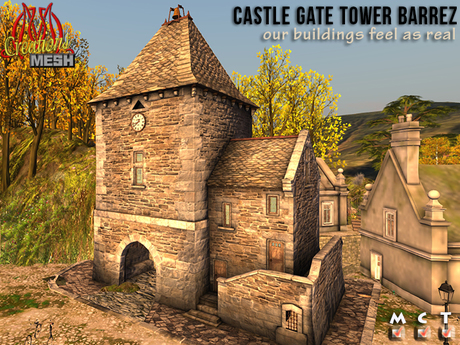 Castle Gate Tower BARREZ Full Permissions