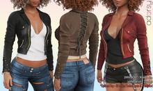 adorsy - Emma Leather Jacket Fatpack - Maitreya