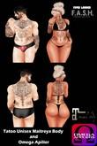 F.A.S.H VIPER - Tatoo Unisex Maitreya Body, Omega Apilier Box