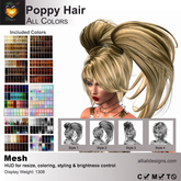 A&A Poppy Hair All Colors, boxed