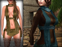 The Muses ~ Eris . Outfit . Green
