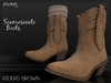 Riders Boots - Scamosciato (Suede) - Riders Brown