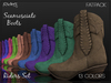 Riders Boots - Scamosciato (Suede) - 13 Fatpack