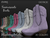 Riders Boots - Scamosciato (Suede) - BB Palette 30 FatPack