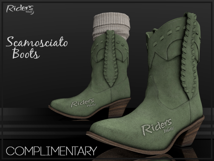 Riders Boots - Scamosciato (Suede) - Complimentary
