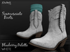 Riders Boots - Scamosciato (Suede) - BB Palette - White