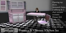 Eclectica Curiosities- Mid century Kitchen in Pink