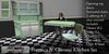 Eclectica Curiosities- Mid Century Kitchen in Green