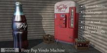 Eclectica Curiosities- Fizzy Pop Vendo Machine