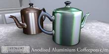 Eclectica Curiosities Tea and Coffee Pots