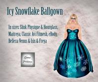 {.Gross Princess.} Icy Snowflake Ballgown