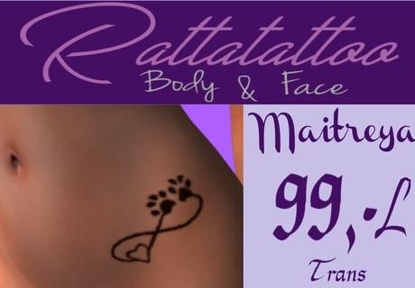 Tattoo an der leiste