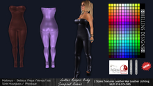 {Hellens} Promo Leather  Romper  Body Jumpsuit  Domus Maitreya  Hourglass Physique Isis Venus Freya