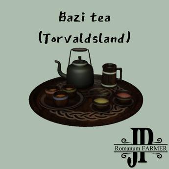 Bazi Tea set (Torvaldsland) [G&S]
