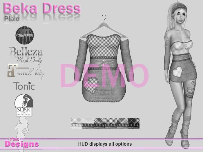 Beka Dress Demo Hud