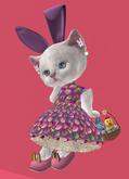 Lexxie Dinkies Easter Girl Outfit