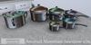 Eclectica curiosities  anodised aluminium saucepan
