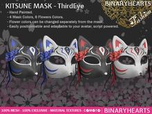 BINARYHEARTS - Kitsune Mask (Third Eye)