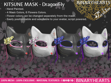BINARYHEARTS - Kitsune Mask (Dragonfly)