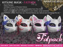 BINARYHEARTS - Kitsune Mask (FATPACK)