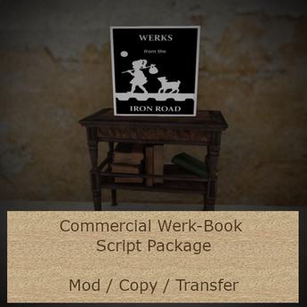 Werk-Books Script Package, Commercial Version, v 1.5