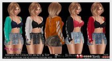 RADEX Mesh Abigail All Colours Jacket & Top