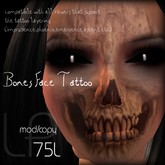:Little Pricks: Bones  Face Tattoo