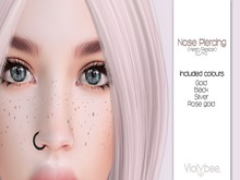 Violybee. Nose Piercing (FATPACK)