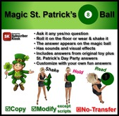 Magic St. Patrick's 8 Ball