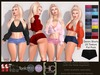 [HC] Imogen Denim Shorts Fat Pack for Slink, Belleza, Maitreya, eBody & Tonic