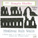 Simply shelby medieval ruin walls512