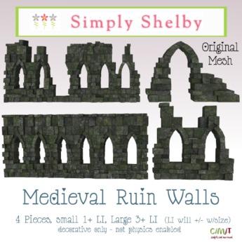 Medieval Ruin Walls