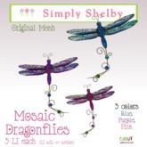 Mosaic Dragonflies - fatpack