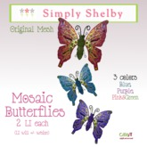 Mosaic Butterflies - fatpack