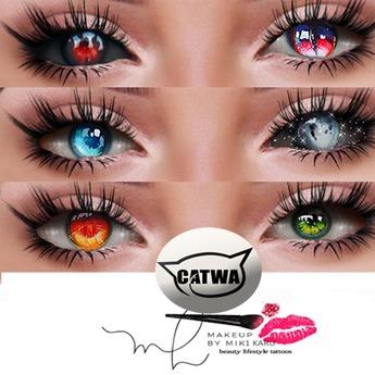 Catwa Eyes Applier Fantasy Multihud